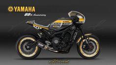 Yamaha XSR900 Cafe Racer design by Mind Motorcycle #motorcycles #caferacer #motos | caferacerpasion.com