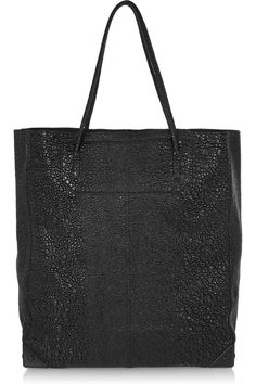 ALEXANDER WANG - Prisma glossed textured-leather tote €735