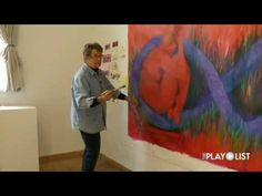 Meet Hazel Belvo at work during her 2012 artist in residence study at the Grand Marais Art Colony. The accomplished painter plays with color on a large-scale...
