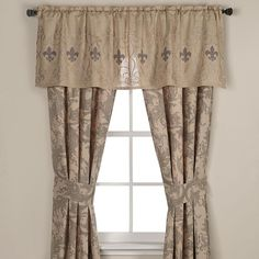 Fleur De Lis Window Treatments