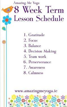 Amazing Me Yoga Lesson Plans Mindful Activities For Kids, Teaching Yoga To Kids, Preschool Yoga, Teaching Plan, Yoga For Kids, Mindfulness For Kids, Mindfulness Activities, Childrens Yoga, Chico Yoga