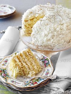 Dorothys Coconut Cake Recipe from Alex Hitz.