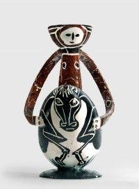 """""""Le cavalier"""", Pablo Picasso, 1950."""