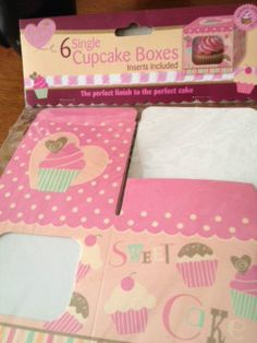 Cupcake boxes 12 for $13 posted