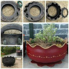 Old tires recycled                                                       …                                                                                                                                                                                 More