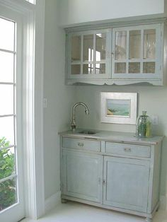 House of Turquoise: My Home Armoire paint color?