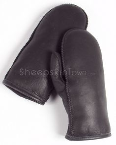 Shop SheepskinTown for the best selection of Men's Sheepskin Gloves. Buy the Black Napa Alaska Shearling Sheepskin Mittens for Men by FRR with fast same day shipping. Sheepskin Gloves, Sheepskin Throw, Mitten Gloves, Mittens, Napa Leather, Camping Outfits, Cold Hands, Winter Accessories, Hand Warmers
