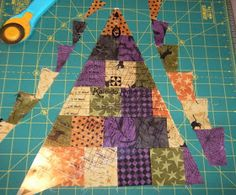 My New Spider Web Quilt! To wrap up this year's  Spider Web Quilt-Along 2014 I would like to share the how-to for making this...