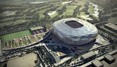 Courtesy of SC A new, 40,000-seat stadium has been unveiled in preparation for the 2022 FIFA World Cup. Planned for Qatar's Education City, the home of