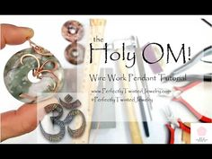 Do you have a lot of donut stones ready for DIY wire wrapping projects? Well, I think this OM WIRE WRAPPING Donut Stone Pendant Tutorial is just what you nee. Etsy Jewelry, Jewelry Stores, Handmade Jewelry, Wire Wrapped Jewelry, Wire Jewelry, Jewellery, Om Pendant, Wire Wrapping Tutorial, Stone Wrapping