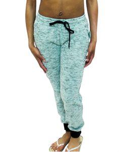 Pretty Girl - Aqua Jogger Pants with Black Trim, $14.99 (http://www.shopprettygirl.com/aqua-jogger-pants-with-black-trim)