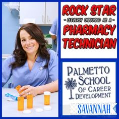 Become a pharmacy technician in only 12 weeks at PSCD-Sav