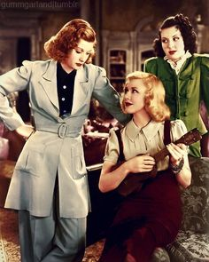 gummgarland:  Lucille Ball, Ginger Rogers and Ann Miller in Stage Door