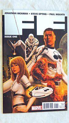 FF #1 A-Cover Comic Book FUTURE FOUNDATION - Marvel Comics 2011 - UNCIRCULATED Grade 9.8 @ niftywarehouse.com #NiftyWarehouse #Nerd #Geek #Entertainment #TV #Products