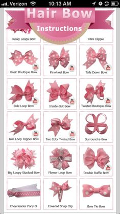 How To Bows
