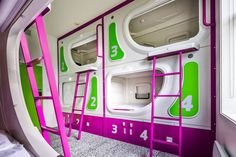 New Zealand's first pod hotel opens in November, located a few minutes' drive from the international airport in the country's second largest city of Christchurch. Jucy Snooze Christchurch will have 271 beds and offer self-contained accommodation capsules with beds, storage lockers, power supply and Wi-Fi connectivity. Guests can only self check-in and out with the use of a smartphone or a specially-designed kiosk.