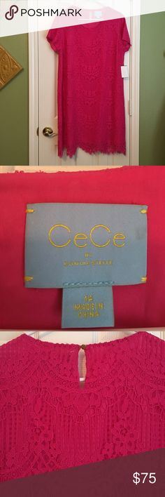 CeCe by Cynthia Steffe NWT summer dress👡👗👛 Perfect for any occasion! NWT color is Pink Lily Cynthia Steffe Dresses Midi