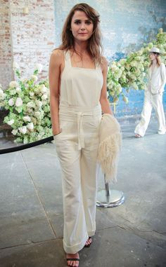 Keri Russell from Stars at New York Fashion Week Spring 2016   E! Online