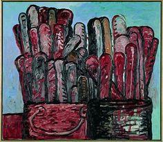 Philip Guston: Paintbrushes (1978) Matthew Mars Gallery, NY