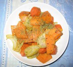 Bataatti-porkkana-sipulilohkot