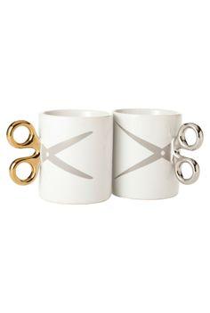 Scissors mugs