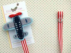 Airplane Pacifier Clip  Little Pilot  Felt by ELLEigatorClips, $8.95 why didn't I find these for Jr!