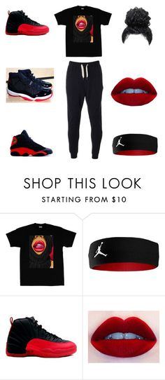 """best friend"" by aleisharodriguez ❤ liked on Polyvore featuring NIKE, Retrò and Evisu"