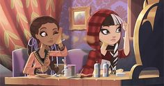 Ever After High Cedar Wood And Cerise Hood Getting Fairest