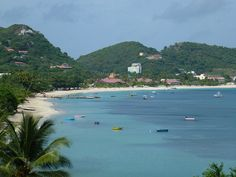Grand Anse (Grenada) is one of the best. Known for its serene and calm conditions, Grand Anse is two miles of white sand, on the western side of the island, sheltered from high waves, strong currents and winds.