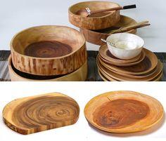 acacia wooden bowls