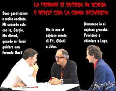 Di come Renzi osò fare la gran richiesta a Marchionne