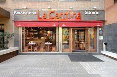 La fachada del Restaurante de La Cantina