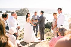 Big Sur Wedding -- perfect.