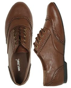 Oxfords! Love them, don't know if I could pull them off!
