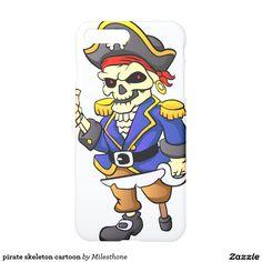pirate skeleton cartoon