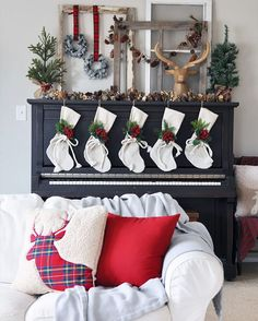 """""""We love to decorating for the holidays."""" #Christmas."""