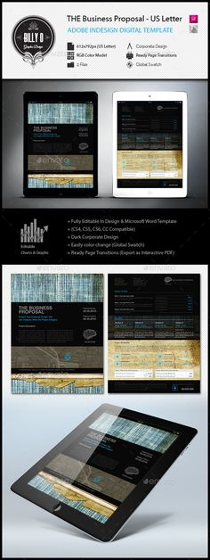 14 Pages A4 Business Proposal Template Graphic Design - proposal letters for business