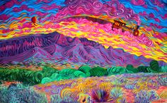 psychedelic and trippy image Psychedelic Space, Psychedelic Drawings, Trippy Drawings, Hippie Wallpaper, Trippy Wallpaper, Lsd Art, Trippy Pictures, Psychadelic Art, Trippy Painting