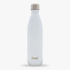 S'well water bottle - Keeps your drinks cold for 24 hours, hot for 12 - 18/8 double-walled stainless steel, non-toxic, non-leaching and BPA free - Bottles do not condensate - Mouth is wide enough for ice cubes and drip-free sipping - Vacuum sealed, keeps liquids and carbonation fresh - A portion of the proceeds from this bottle sold will go back towards WaterAid