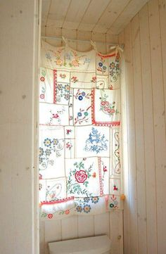 Neat idea for embroidery pieces