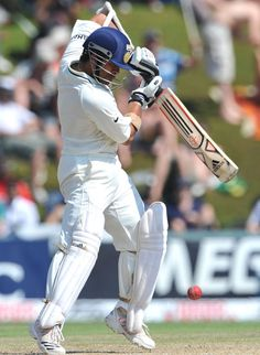 Sachin Tendulkar plays a shot off the back foot during his century, South Africa v India, 1st Test, Centurion,  December 19, 2010 200th.in