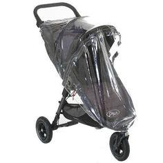 Baby Jogger City Protector Lluvia Cochecito Bebé Individual Con Cremallera Mini Micro