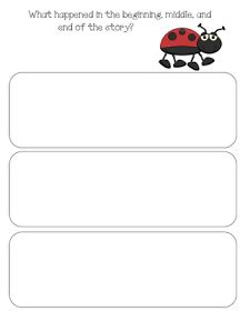 Fun in First Grade: The Grouchy Ladybug
