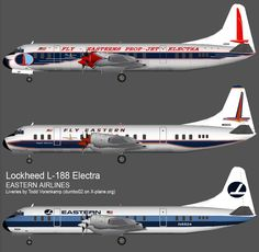 Lockheed Electra, one of my favorite prop planes - flew it every change I got!