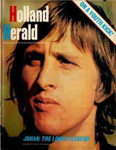 Johan #Cruijff is on the cover of this Holland Herald. Next to all the great football talents Holland has produced, he was for sure the greatest of them all. (Issue July 1973)