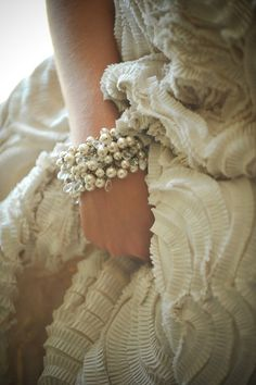 sparkly pearls.