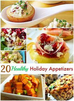 The holidays are filled with temptations to eat unhealthy treats. It's Ok to indulge a bit, but include a few healthy appetizers in your offerings too. Many of these options are good for vegetarian and gluten free guests. Consuming these appetizers may help your waistline as well. After all, Americans tend to gain up to …