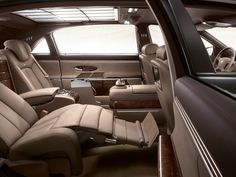 Whats the big deal about maybach? they don't even look that great on the outside for £250,000. However Maybach is about luxury and comfort, not posing. check out the interior of this maybach.