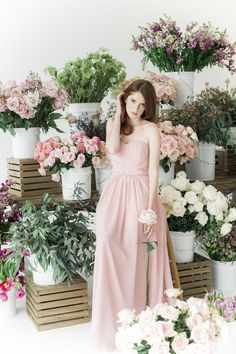 Bridesmaid's Dresses: SMP x Weddington Way - www.weddingtonway.com/style-me-pretty?utm_source=ww&utm_medium=seobanner&utm_campaign=announcement Flowers: Fifty Flowers - http://www.stylemepretty.com/portfolio/fifty-flowers Photography: Judy Pak Photography - judypak.com   Read More on SMP: http://www.stylemepretty.com/2017/02/10/style-me-pretty-weddington-way-bridesmaids-dresses/