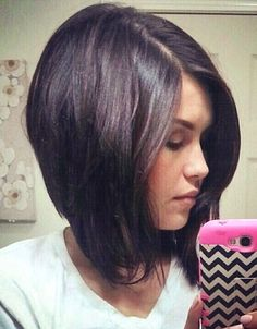 40 bob looks to choose from - this one is called: long bob haircut with side bangs